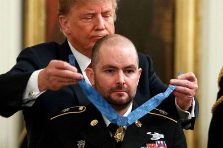 Medal of Honor recipient who saved his teammates' lives faces a new battle: cancer