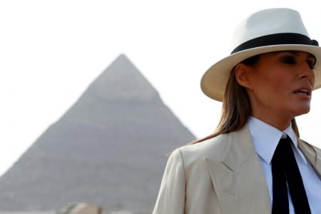"""Melania Trump says Kavanaugh is """"highly qualified"""" for the Supreme Court"""