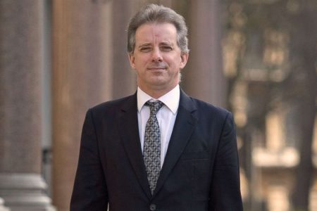 Former MI6 spy Christopher Steele, who compiled controversial dossier, breaks silence to criticize Trump