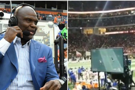 Booger McFarland's crane is ruining 'Monday Night Football' for some fans