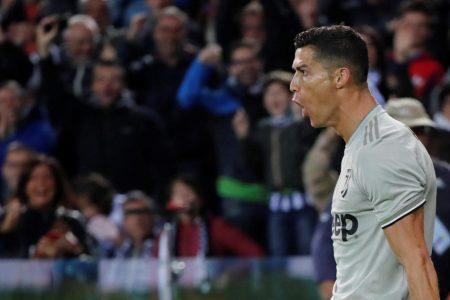 Cristiano Ronaldo scores for Juventus amid rape allegation