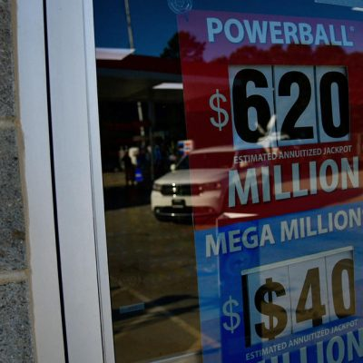 Powerball winning numbers: 3, 21, 45, 53, 56 and Powerball 22