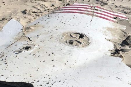 SpaceX rocket debris washes up along Outer Banks beach