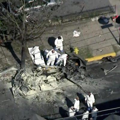Car explodes in Allentown, Pennsylvania; 3 dead, coroner says