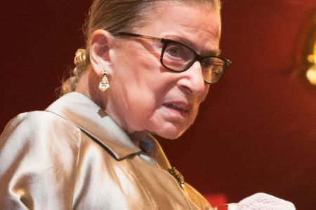 Supreme Court Justice Ruth Bader Ginsburg is 'up and working' after a fall that broke her ribs