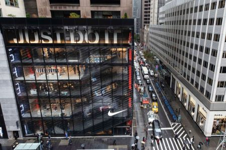 Nike opens new flagship store in NYC with customized sneakers, digital shopping