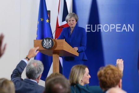 European markets rise after EU backs PM May's Brexit deal; Italian banks climb