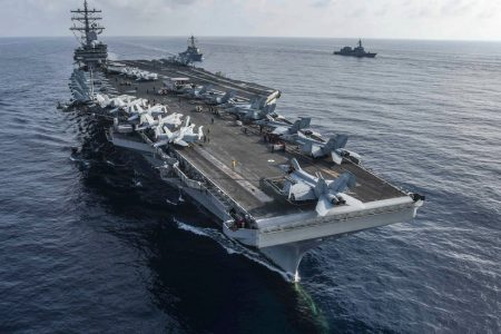 US Navy Carrier Suffers Second Aircraft Crash in Weeks