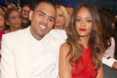 Rihanna's fans are not happy about Chris Brown's comments on her sultry Instagram pics