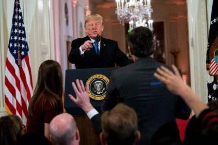 CNN Sues Trump Administration for Barring Jim Acosta From White House