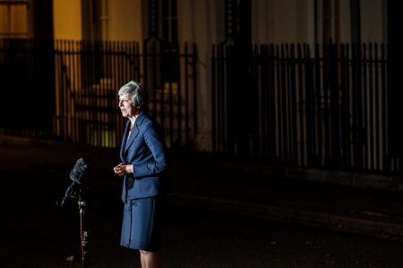 At Brexit Crunch Time, Theresa May Takes a Pummeling