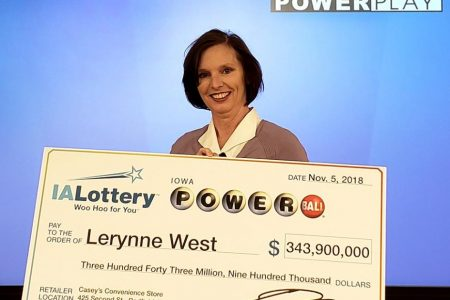 She played the lottery after moving into her first house. Now she has $198 million to splurge