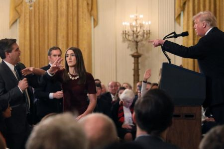 Fox News and other outlets join CNN fight over press access to White House