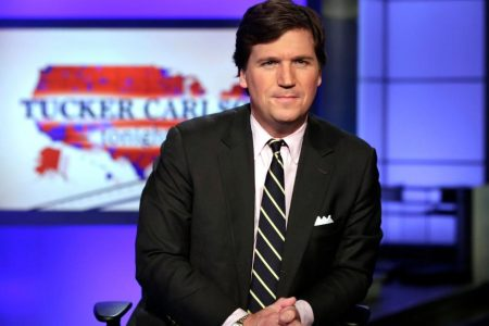 Police launch investigation after Antifa activists descend on Fox host Tucker Carlson's home