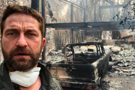 Miley Cyrus, Neil Young, Gerard Butler among those to lose homes in California wildfires