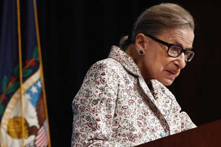 Ruth Bader Ginsburg to miss another day at court, recovering after fall