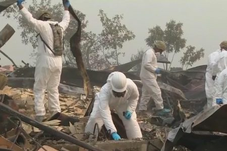 Authorities are asking for DNA samples from relatives of the missing in California's Camp Fire