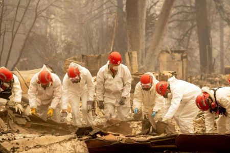 Camp Fire search efforts intensify with more than 600 people reported missing