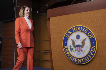 Pelosi meets with Fudge and other foes amid speaker drama