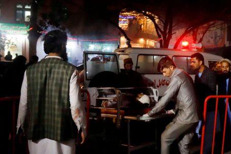 Kabul wedding hall blast kills 40, Afghan officials say