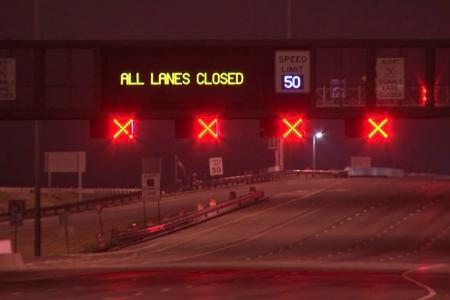 Highly flammable gas leak shuts down major East Coast bridge on busy travel night