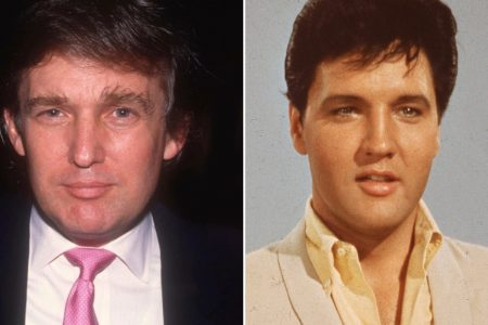 Trump compares himself to Elvis, memes ensue – CNN