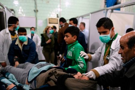 Syria Urges UN to Condemn Rebels After Apparent Chemical Attack