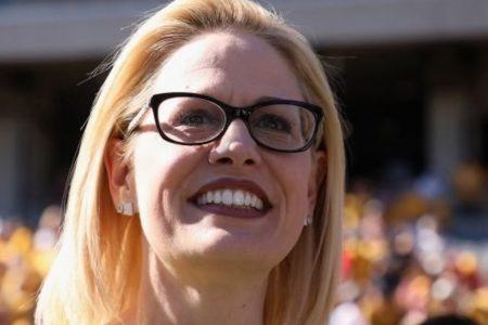 Democrat Kyrsten Sinema Becomes Arizona's First Female Senator