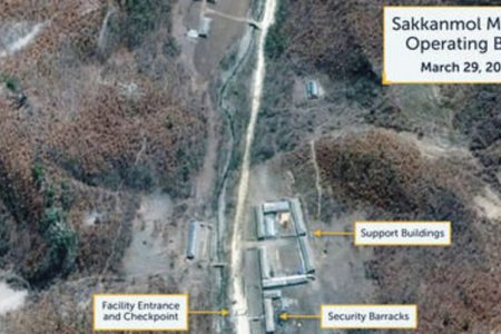 New Satellite Images Show Hidden North Korea Missile Bases