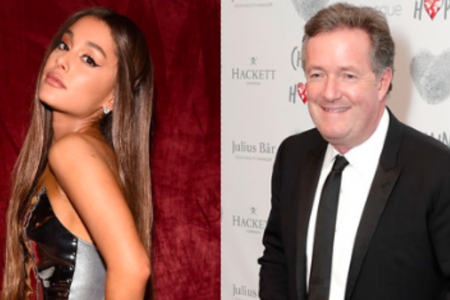 Ariana Grande Drags Piers Morgan There And Back Again To Defend Mom