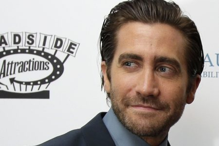 Stephen Colbert goes commando to give Jake Gyllenhaal an Election Day scare