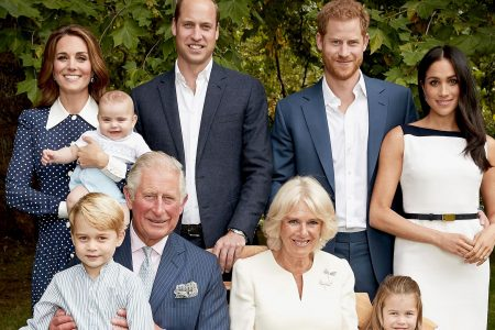 See the new portrait of Britain's royal family – featuring a rare peek at Prince Louis