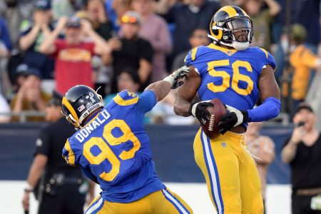 NFL Week 10 winners, losers: Rams defense can be counted on, time for Jets to make change
