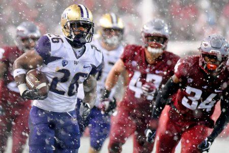 No. 16 Washington overcomes snow, No. 7 Washington State to win Pac-12 North