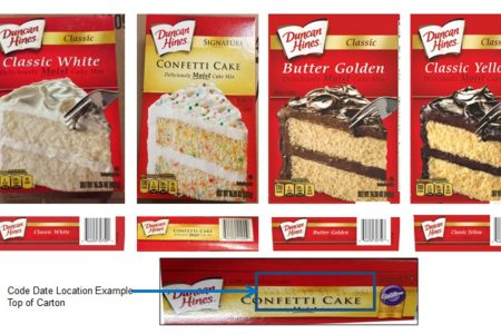 Duncan Hines recalls 2.4 million boxes of cake mix for potential salmonella risk