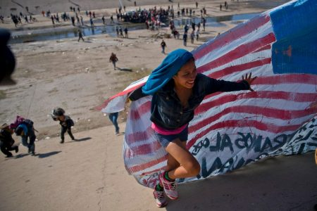 Hundreds of migrants try rushing toward California port of entry, as Trump threatens to close entire border