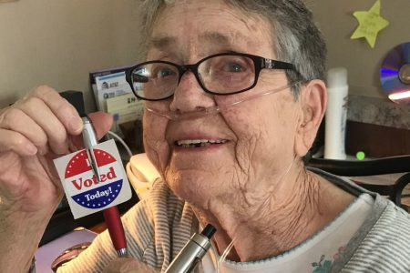 An 82-year-old Texas woman voted for the first time. Then she died.