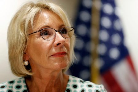 Betsy DeVos releases sexual assault rules she hails as balancing rights of victims, accused