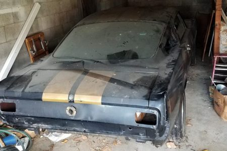 Rare 1966 Shelby GT350H found in 'little old lady's garage'
