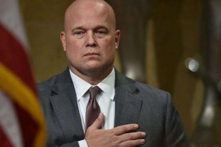 Whitaker assures GOP senator on Mueller probe