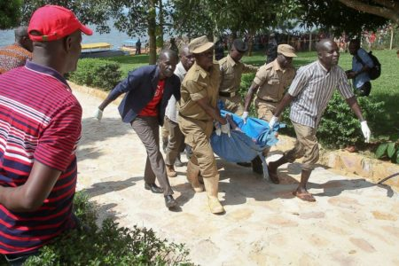 31 dead in Ugandan boat accident, toll expected to rise