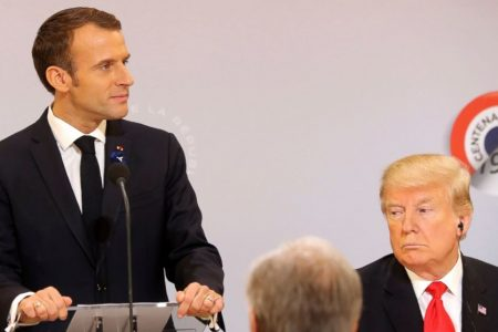 """France fires back at Trump's lack of """"common decency"""""""