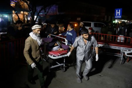 Explosion rips through large Sunni gathering in Kabul, killing at least 50