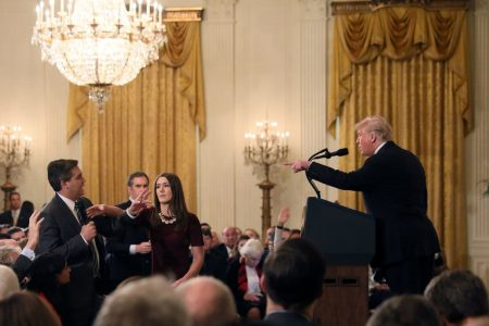 White House shares doctored video to support punishment of journalist Jim Acosta
