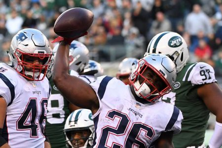 Sony Michel emerges as X-factor for Patriots' playoff push