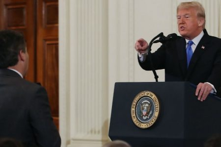 CNN's Acosta in Paris to cover Trump visit