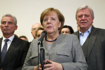 Germany's Merkel expresses condolences to Trump over California wildfires