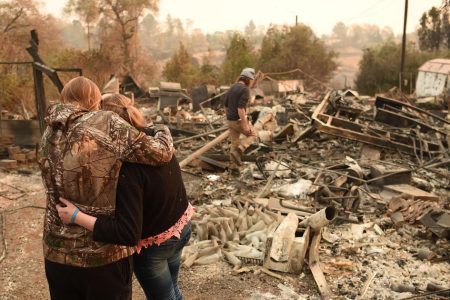 Heavy rain may trigger mudslides in areas recovering from California wildfire