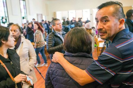 Undocumented man arrested after leaving sanctuary for appointment at US Immigration office, activists say