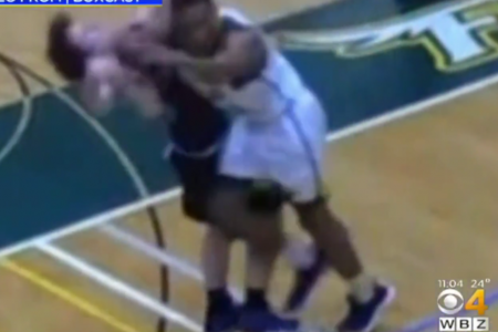 Fitchburg State basketball player kicked off campus for dirty shot to opponent's head